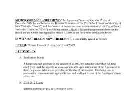 Member Contract Csa