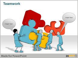 Teamwork Presentations Representing Teamwork Through Customizable Visuals In Ppt