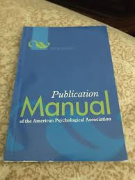 Apa Publication Manual 6th Ed