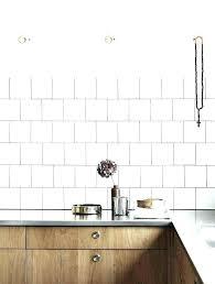 white tile kitchen tiles grey grout square with black matt mosaic