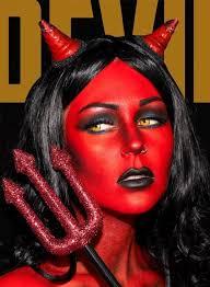 heaven devil makeup