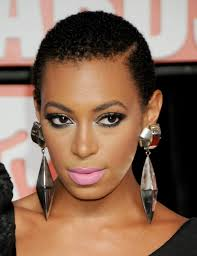 solange short natural black women hairstyles