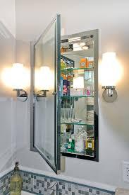 Innovative recessed medicine cabinet in Bathroom Modern with Wash