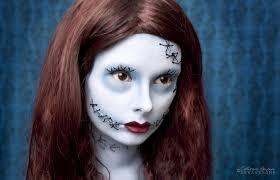 the nightmare before christmas sally makeup