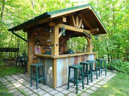 gorgeous tiki bar backyard bars luxury patio ideas outdoor