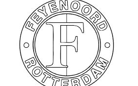 Mooie Feyenoord Kleurplaat Printen Krijg Duizenden Kleurenfotos