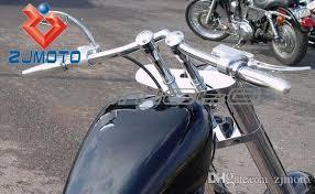 2018 zjmoto motorcycle black handlebars bobber triumph bsa custom
