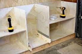 how to build diy garage cabinets and