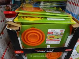 dexas collapsible strainer board costco 2