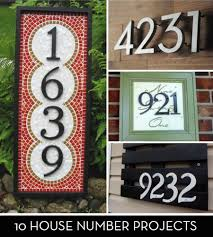 I'm ashamed to admit, I have utilitarian house numbers. Although practical,  they have no style whatsoever. Okay, they have a little style but nothing  like ...