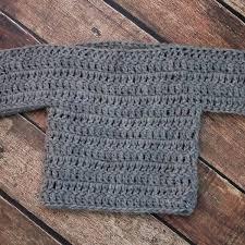 Free Crochet Baby Sweater Patterns Impressive Free Baby Sweater Crochet Pattern