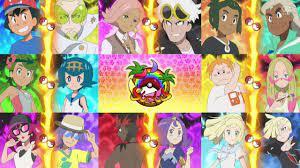 Who will WIN the Alola League!? Pokemon Sun and Moon Anime - YouTube