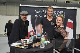 michael devillis and the amazing make up for ever staff