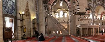 süleymaniye camii'nin içi ile ilgili görsel sonucu