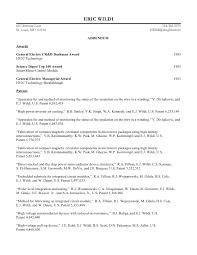Wildi 2009 Resume Addendum. ERIC WILDI 60 Clermont Lane ...