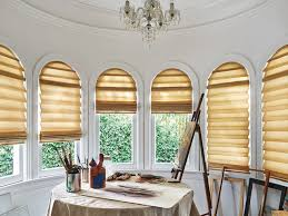 ... Vignette Modern Roman Shades Arched Top ...