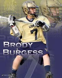 Here is another personalized lacrosse design from the Briarwood ...