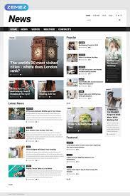 Website Template Newspaper Website Template 52025 News Portal Newspaper Custom Website