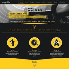 Top Charts 2010 Usa Top40usa Net At Wi Top 40 Usa Music Charts Top 40 Hits