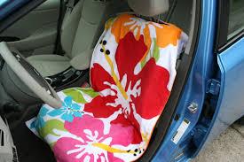 summertime waterproof towel car seat cover diy may 6 2016