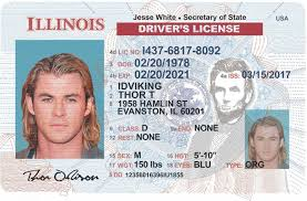 License il Illinois Fake Drivers - Id New Scannable