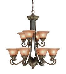 dolan designs 822 38 windsor 12 light 34 inch sante fe chandelier ceiling light photo