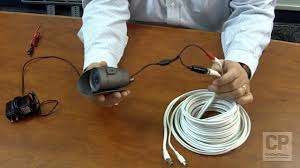 introduction video to premade cctv cables for security camera security camera wire repair at 3 Wire Camera Diagram