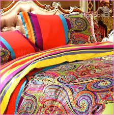 image of moroccan print bedding