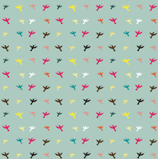 Bird Pattern Simple Different Color Birds Pattern Vector Free Download