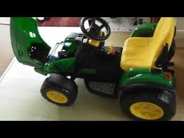 how to emble per perego john deere ground force childrens ride on tractor toy part 4 of 4 29jul16