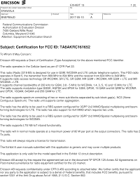 Akrc161678 1 Gsm Lte Wcdma Radio Equipment Cover Letter Subject