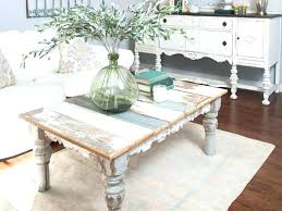 chic coffee table shabby
