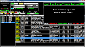 streaming hardware karaoke player with here