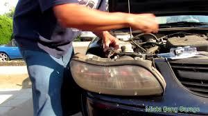 2003 Chevy Malibu Headlight Bulb Replacement - YouTube