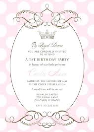 Royal Invitation Template Royal Invites Wording Best Party For Images On Birthday