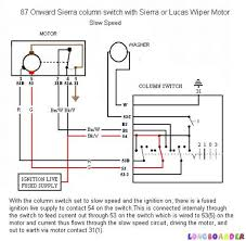similiar wiper motor wiring schematic keywords ford wiper motor wiring diagram car tuning
