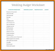 wedding budget template for excel 15 wedding budget excel proposal review
