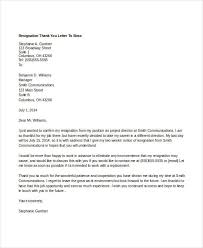 7 Thank You Letter Templates To Boss Free Sample Example Format