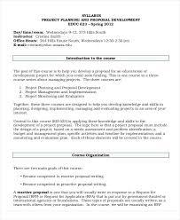 Planning Development Proposal Request For Project Management ...