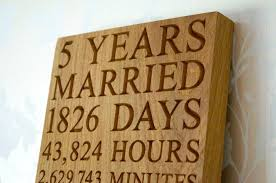 5th wedding anniversary gift ideas for him