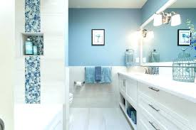 White Bathroom Remodel Ideas Awesome Selling Or Renovating Blue Bathrooms Like These Increase Home Value