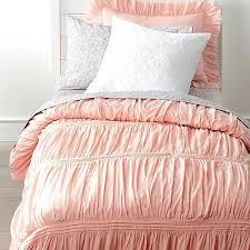pink duvet cover linen single