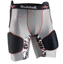 Riddell Girdle Size Chart Riddell Mens Power Recon Five Piece Padded Football Girdle