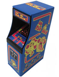 Ms Pacman Cabinet Ms Pac Man Arcade Ghosts Candy Boston America Ms Pac Man