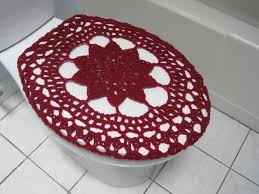 burgundy toilet seat cover. crochet toilet seat cover - burgundy (tsc17n) by ytang on etsy t