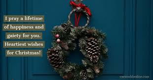This list of 75 inspirational christmas card messages for family and friends will get you excited about sending your cards out this year. Merry Christmas Happy New Year Wishes Cseworld Online