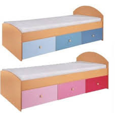 Special Offer Metro - Pink or Blue Bed with underbed drawers