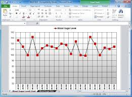 How To Graph Blood Pressure On Excel Blood Sugar Tracker Template For Excel