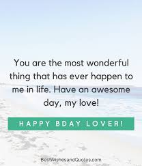 Quotes For My Love Inspiration Happy Birthday Lover 48 Romantic Quotes Just For Your True Love