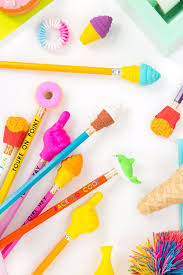 diy school supplies super cute pencil toppers easy crafts and do it yourself ideas
